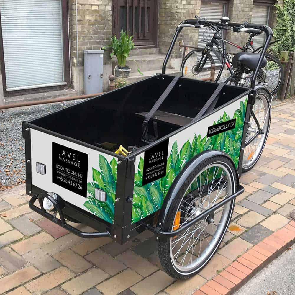 Javel Cykel med grafisk design