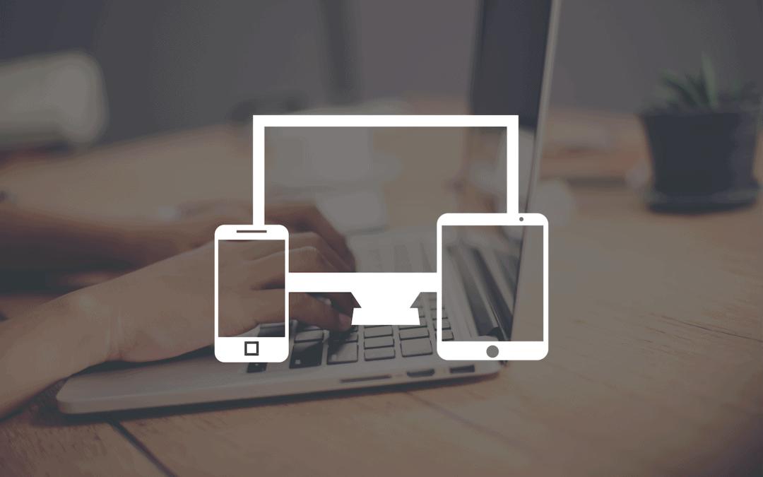 Mobilvenlig hjemmeside